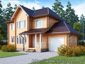 качественный дом из бруса