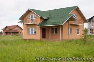 качественный дом из кирпича