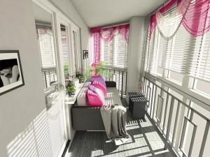 Евроремонт балконов: от дизайнерской идеи до утепления