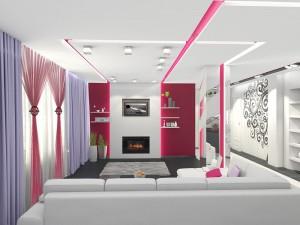 Фото дизайна интерьеров гостиных комнат